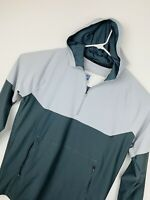 Under Armour Threadborne Fitted 1/4 Zip Polyester Pullover Colorblock Jacket XL