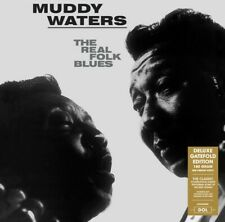 Muddy Waters - The Real Folk Blues Deluxe Gatefold Edition Vinyl LP DOL945HG