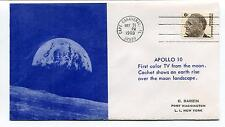 1969 Apollo 10 First color TV from the Moon Earth rise Space Cover