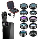 Mobile Phone Ultimate Cinematic Photography 10 in 1 Clip On Lens Kit with Case