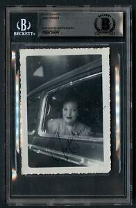 Jane Wyman (d. 2007) signed autograph 3x5 Vintage Photo Actress Falcon Crest BAS