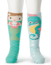 Mermaid & Seahorse Knee Socks, Story Time Socks, Fits 18 - 36 months #5004700336