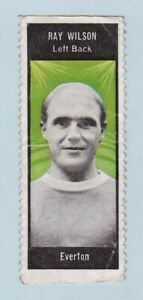 Football Sticker/Stamp - World Cup Footballers (A. & B.C. Gum) - #Ray Wilson