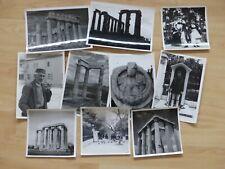 Lot de  10  Photographies  ORIGINAUX de Grèce dès années 50