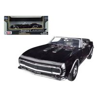 1967 Chevrolet Camaro SS Convertible Burgundy 1/24 Diecast Car Model by Motormax