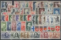 O136721/ FRANCE / LOT 1953 - 1959 MINT MNH FULL SETS CV 278 $