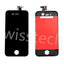 For Iphone 4S Black front Touch Glass Digitizer+ LCD Assembly Retina Replacement