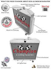 1955 1956 1957 Chevy Bel-Air V8 Mount Champion 3 Row Aluminum Radiator CC5057