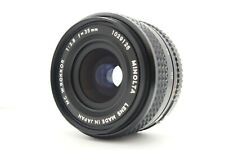 [EXC+++] MINOLTA MC W.ROKKOR 35mm F2.8 Wide Angle MF Lens From JAPAN 1022