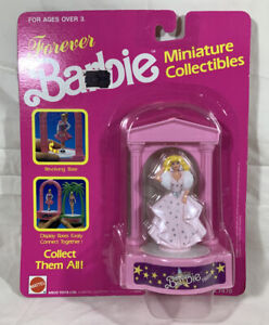 MINIATURE BARBIE COLLECTIBLES SUPER STAR BARBIE 1989 NIP