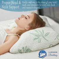 Cover BRAND NEW OPULENT Pillow with Shredded Memory Foam Adjustable