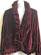 Cocoon House Coat Jacket Silk Lined Long Sleeve L/XL Large XLarge NWT New