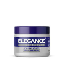 Elegance Vitamin Pro-VB5 Extra Strong Hair Gel 17oz 500ml - NEW FACTORY SEALED