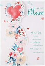 Love You Mum - Luxury Large Mother's Day Card - From Hallmark