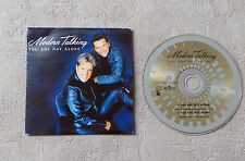 """CD AUDIO MUSIQUE/ MODERN TALKING """"YOU ARE NOT ALONE"""" 1999 CD SINGLE 2T HANSA"""