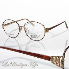vintage 80's SOPHIA LOREN Eyewear M44 036 Brille glasses frames lunettes NOS NEU