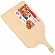 Pala Pizza XL Tagliere Vassoio In Legno Di Betulla 50x37cm Con Impugnatura