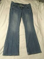 """American Eagle Outfitters ~ Women's 10 Reg ~ """"AE ARTIST"""" BOOT Cut Blue Jeans"""