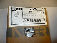 """Neer C-510 Two Screw Clamp Type Connector, 3/8"""", Box of 100, New"""