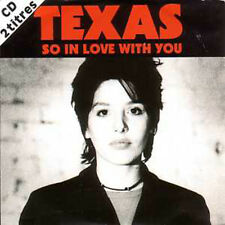 CD Single TEXAS So in love with you Rare CARD SLEEVE NEW SEALED