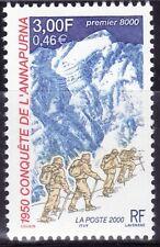SELLOS FRANCIA 2000 3331 CONQUISTA ANNAPURNA 1v.