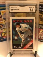 1988 Topps Roger Clemens #70 GMA 8.5 NM-MT+