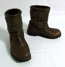 Ugg Australia 5485 Brown Leather & Suede Winter Boot Men's Size 9 *GUC*