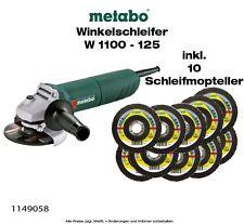 W 1100-125 Winkelschleifer Set mit Schleifmopteller (1149058)