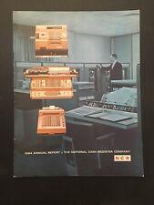 1964 NCR NATIONAL CASH REGISTER ANNUAL REPORT DAYTON OHIO-UNCLE SAM
