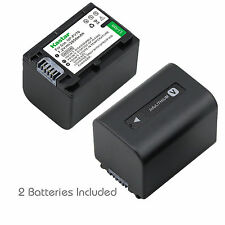 2x Kastar Battery for Sony NP-FV70 HDR-XR155 HDR-XR160 HDR-XR260V HDR-XR350V