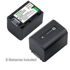 2x Kastar Battery for Sony NP-FV70 HDR-XR550V HXR-MC50U HXR-NX3D1U HXR-NX30U