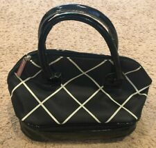 YANKEE CANDLE INSULATED LUNCH BAG BLACK & WHITE