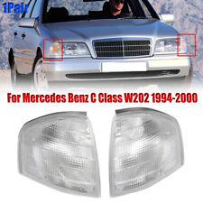 Pair Turn Side Signal Corner Lamp Light For Mercedes Benz C Class W202 C180/C220