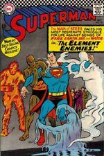 SUPERMAN #190 G/VG, water rings on f/c, DC Comics 1966 Stock Image
