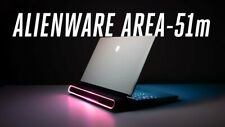ALIENWARE 17 AREA-51M LAPTOP CORE I7-8700K 4.7GHZ 8GB 1000GB SSD 8GB 2070RTX