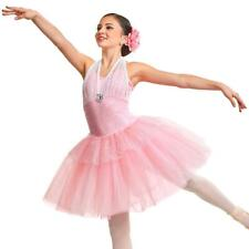 Adult Large Pink BEAUTY Dress Ballet Romantic Costume (starting quantity 7)