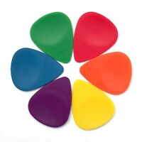 Wedgie Delrin EX Guitar Pick Sampler Pack | Thin, Medium, and Heavy | 6 pcs