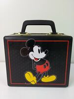 Vtg Disney Mickey Mouse Chocolate Tin Lunchbox Style Park Hudson Scott & Sons