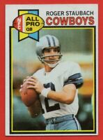1979 Topps #400 Roger Staubach EX-EXMINT+ All-Pro Dallas Cowboys FREE SHIPPING