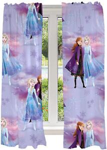 "Franco Kids Room Window Curtains Drapes Set, 82"" x 63"", Disney Frozen 2"