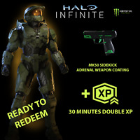 Halo Infinite MONSTER ADRENAL MK50 SIDEKICK Weapon Coating  DLC (All Regions!)