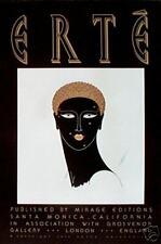 """Erte """"Queen of Sheba"""" Poster"""