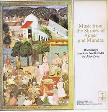 LP INDIA MUSIC FROM THE SHRINES OF AJMER AND MUNDRA