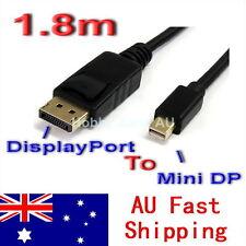 Mini DisplayPort DP to Display Port DP 6FT 1.8M Cable For MacBook Pro Air Mac
