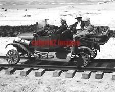 c1917 OREGON Pacific Northwest Coast WWI Spruce Div US Signal Corp RR Railcar RE