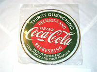"Brand new ""Coca-Cola"" signs ""Thirst Quenching"" in original sealed plastic bag"