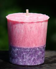 FLUFFY PINK CANDY Votive Candle 20 Hour PARTY PINK & PURPLE TRIPLE SCENTED GIFTS