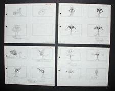 Signed Friz Freleng Pink Panther Storyboard Set 3, 1967