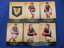 2013 SELECT FUTURE FORCE CARDS U/18 CHAMPIONSHIPS TASMANIA SET (6)