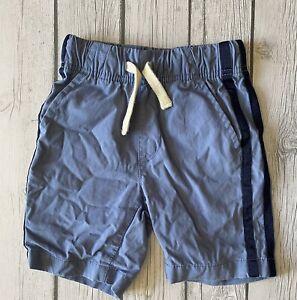 The Children's Place Boys Size 4 Shorts Blue Stripe Up Side